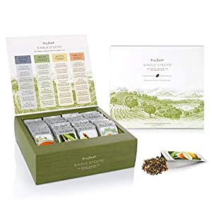 EXCLUSIVE! Tea Forte Single Steeps Tea Chest ~ NEW ITEM
