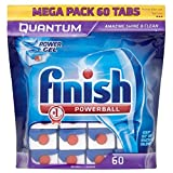 Finish Quantum Powerball Dishwasher Tablets (60)