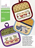 Anita Goodesign Embroidery Designs - Pot Holders