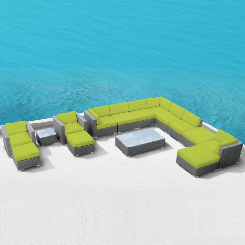 Modern Outdoor Patio Furniture Wicker Bella 15