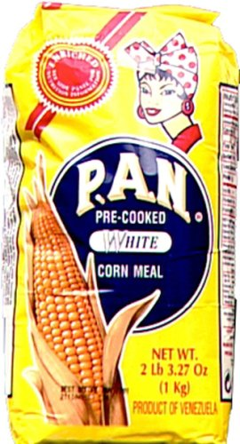 Harina P.a.n. White Corn Meal 1 kg(35 oz/2 lb 3.3 oz) (3-pack) (Pan Corn Flour compare prices)