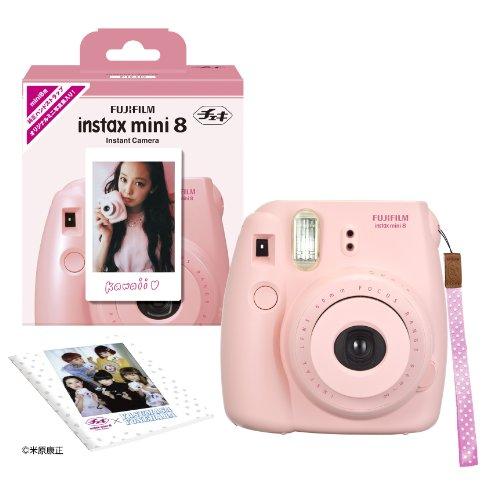 1-X-Fuji-Instax-Mini-8-N-Pink-Original-Strap-Set-Fujifilm-Instax-Mini-8N-Instant-Camera