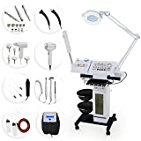 Professional Beauty Salon Multifunction Microdermabrasion Skincare Machine with Ozone Facial Steamer
