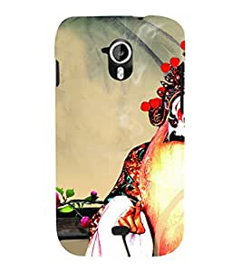 EPICCASE Scary monster Mobile Back Case Cover For Micromax Canvas 2 A110 (Designer Case)