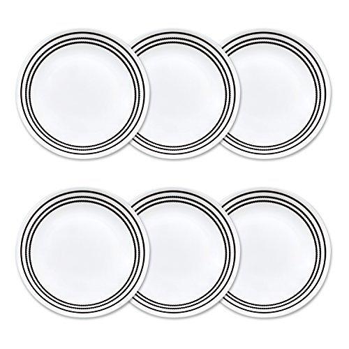 corelle-brilliant-black-beads-plates-white-bread-butter-6-3-4-dia-6-count