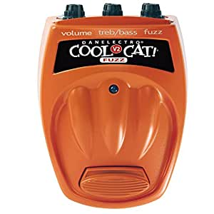 Amazon.com: Danelectro CF-2 Cool Cat Fuzz V2 Effect Pedal: Musical