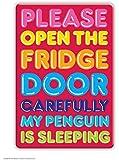 My Penguin Is Sleeping Kühlschrankmagnet