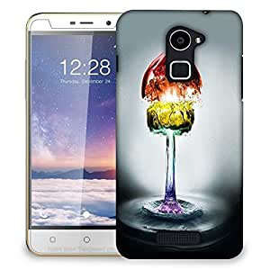 Snoogg Colorful Water Phases Designer Protective Back Case Cover For COOLPAD NOTE 3 LITE