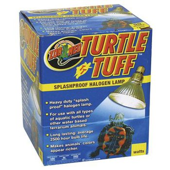 Zoo Med Turtle Tuff Splashproof Halogen Lamp 50 Watts