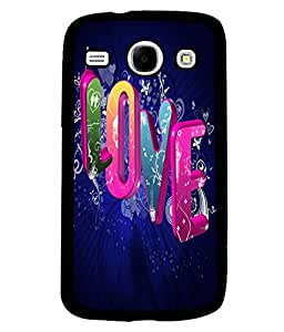 PrintVisa Metal Printed Love Designer Back Case Cover for Samsung Galaxy Core I8260/ I8262-D5103