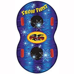 Buy Flexible Flyer Snow Twist 57 Inflatable Snow Tube by Flexible Flyer