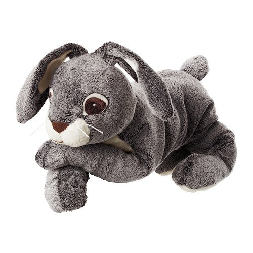 Ikea VANDRING HARE Soft Toy, 15.75 Inch - 1