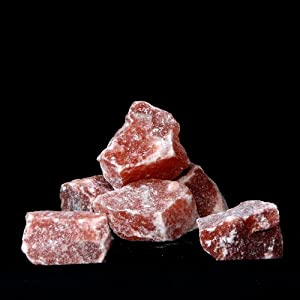 20 Pounds Himalayan Crystal Salt Stones - Pink - Great for your next Bath