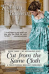 Cut From The Same Cloth: A Humorous Traditional Regency Romance by Kathleen Baldwin ebook deal