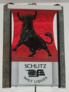 Amazon Schlitz Malt Liquor Bull Lighted Barroom Wall #2: 5154oGoop9L SY300 QL70