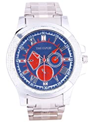 Time Expert Analogue Blue Dial Men's Watch - TE100303