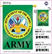 "Army Garden Flag Indoor/outdoor 13.5"" X 18"""
