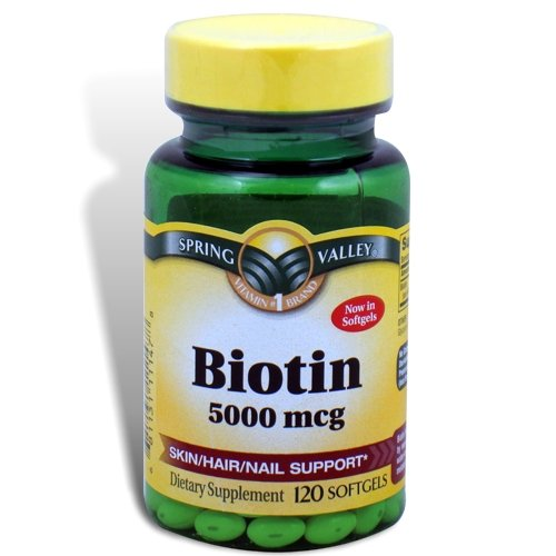 Biotin 5000 mcg for hair growth