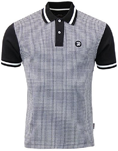 trojan-records-polo-uomo-black-xx-large