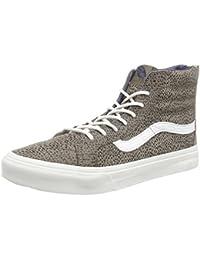 Vans Unisex Sk8-Hi Slim Zip Sneaker