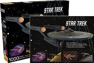 Aquarius Star Trek- Enterprise Puzzle
