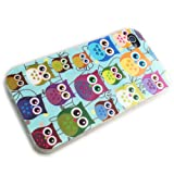 Apple iPhone 4 4S TPU HQ LITTLE OWL Design protection phone case bag shock Bumper SILICON thematys®