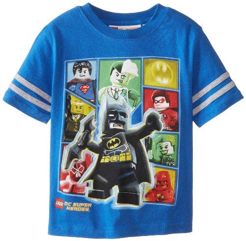 Lego Little Boys' Batman Dc Super Heroes, Blue, 5/6 front-884581