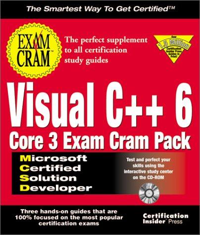 McSd Visual C++ 6 Core 3 Exam Cram Pack with CDROM