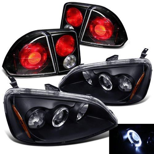 Rxmotoring 2002 Honda Civic Headlights Projector + Tail Light