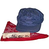 Little Engineer Hat Bandanna & Whistle Set