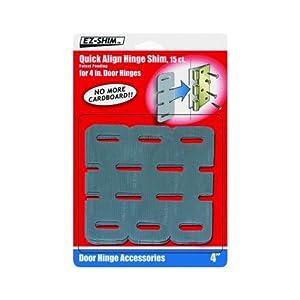 Ez Shim Inc Hs400bp Quick Align Hinge Shim Door Hinges