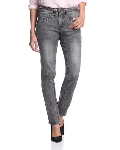 Jag Jeans Petite Women's Minnie Straight Jeans