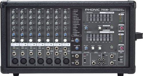 Phonic Powerpod 780 Plus 2X300W 7-Channel Powered