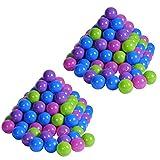 Knorrtoys 56778 - Bälleset - 200 Bälle softcolour für Bällebad