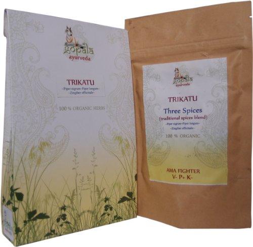 TRIKATU capsules (USDA certifiés biologiques) -