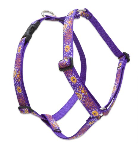 Lupine 1-Inch Sunny Days Roman Dog Harness, 24-Inch To 38-Inch back-108083