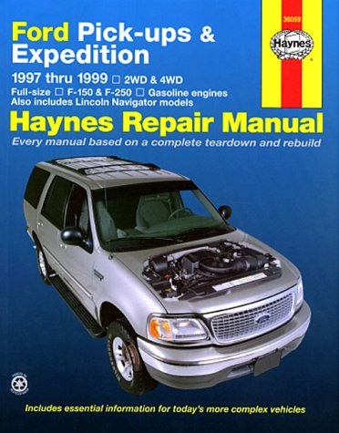 Haynes Repair Manual: Ford Pick-ups & Expedition 1997 thru 1999 (Haynes) (97 Ford F150 Parts compare prices)