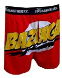 The Big Bang Theory Bazinga Boxer Shorts for men