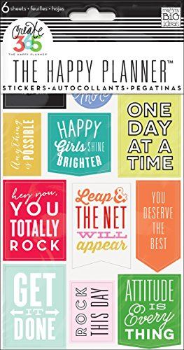 Me & my BIG ideas Create 365 The Happy Planner