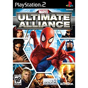 5155D3D4EML. AA300  Download Marvel Ultimate Alliance 2006   PS2