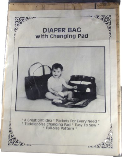 Diaper Bag with Changing Pad Pattern-Lisa F. Brennan