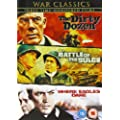 War Classics Collection: Where Eagles Dare / The Dirty Dozen / Battle Of The Bulge [DVD]