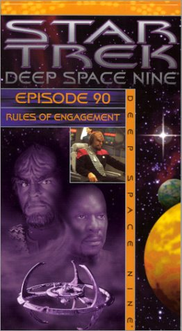 Star Trek Deep 90: Rules of Engagement [VHS] [Import]