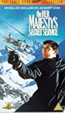 On Her Majesty's Secret Service [VHS] [1969]