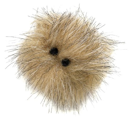 West Paw Design Hair Ball Catnip-Filled Cat Toy with Bell, Assorted