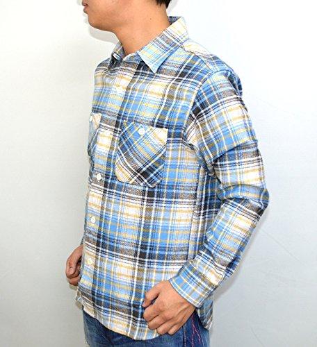 シュガーケーン SUGAR CANE SC27394 長袖チェックシャツ ツイル フランネルネルシャツ ワークシャツ 東洋エンタープライズ オフホワイト色 東洋エンタープライズ アメカジ