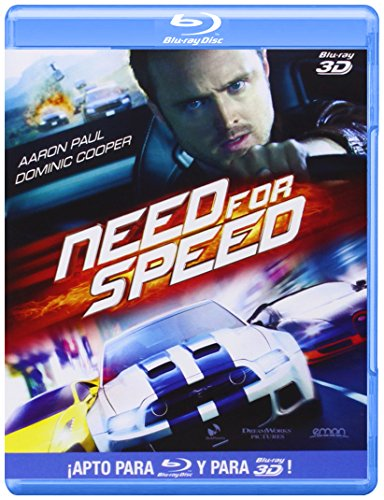 Need For Speed (Bd 3d + 2d) (Blu-Ray) (Import) (European Format - Region B) (2014) Aaron Paul; Imogen Poo