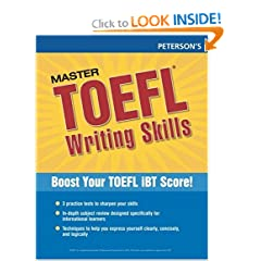 Master the TOEFL Writing Skills (Peterson's Master the TOEFL Writing Skills)