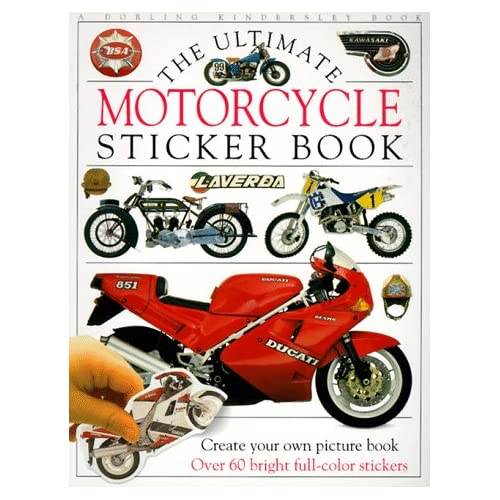 Ultimate Sticker Book: Motorcycle