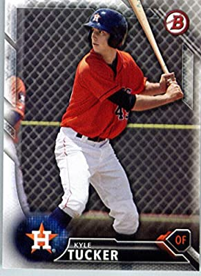 2016 Bowman Prospects #BP60 Kyle Tucker Houston Astros Baseball Card